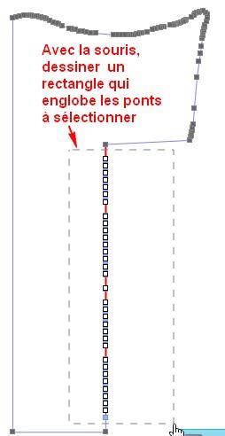 12 - Comment sélectionner plusieurs points à la fois ? Rectan10