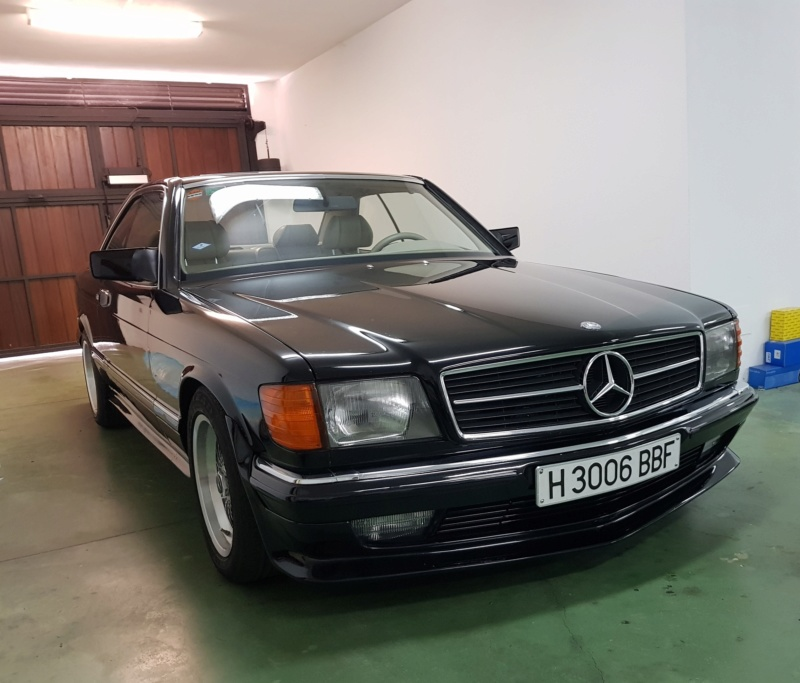 [VENDS] Mercedes 500 SEC KIT AMG D'ORIGINE 212