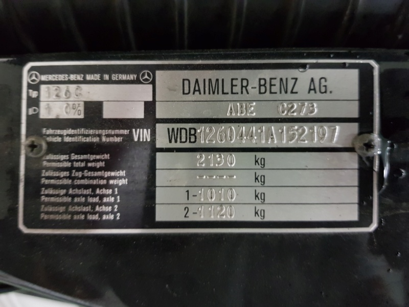 [VENDS] Mercedes 500 SEC KIT AMG D'ORIGINE 2610