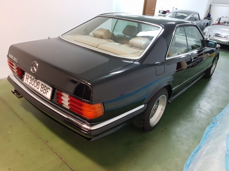 [VENDS] Mercedes 500 SEC KIT AMG D'ORIGINE 410