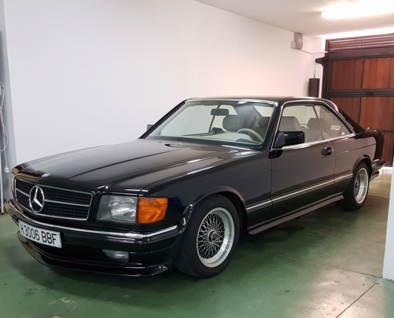 [VENDS] Mercedes 500 SEC KIT AMG D'ORIGINE 4310