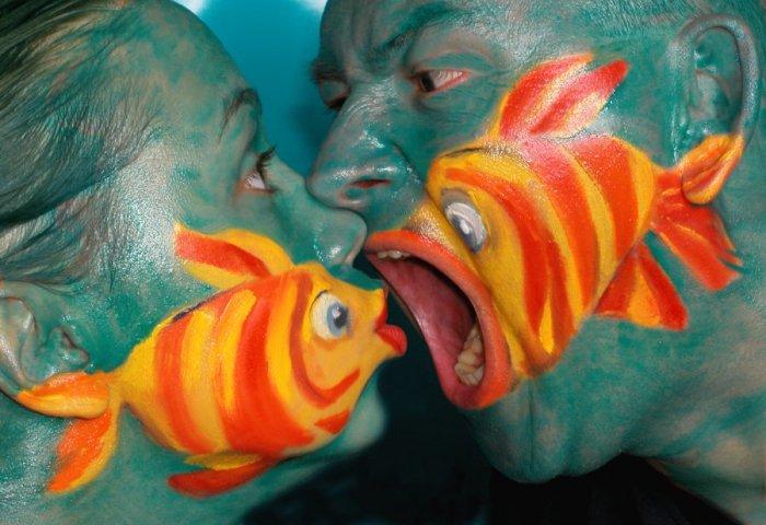 poissons en peinture Poisso33