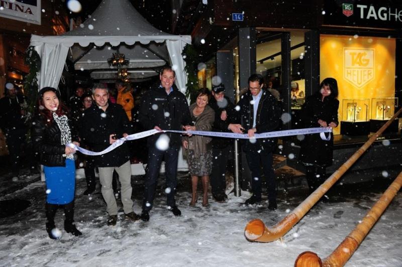ZENITH : ouverture d'une boutique à ZERMATT Ribbon11