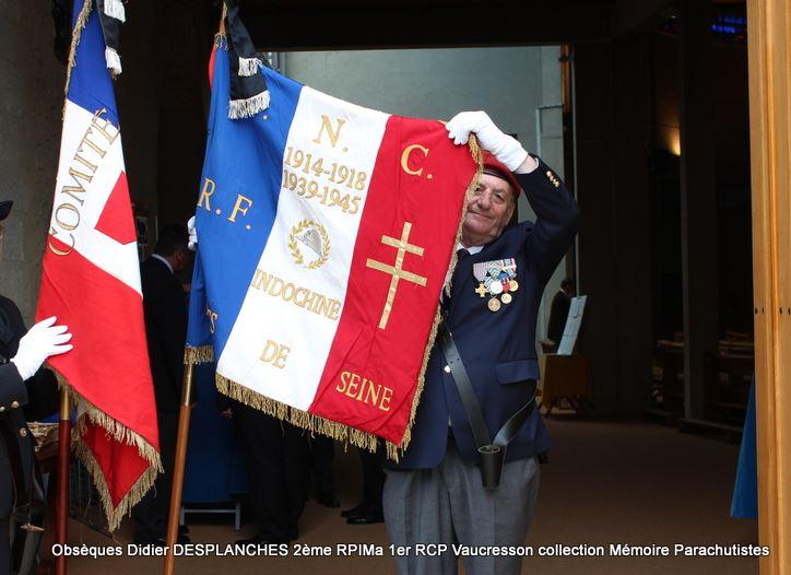 Le Lt Colonel (h) Didier DESPLANCHES  BP 115 078, commandeur de la légion d'honneur est décédé le 28 mai dans sa 81éme annnée. Baret_10