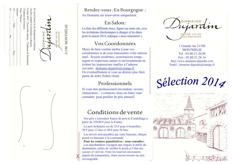 Grand Vin de Borugogne: Domaine Dujardin Bourgo10