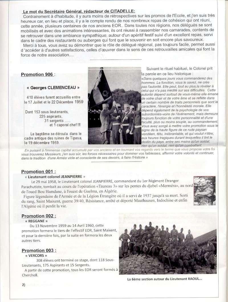 """Bulletin CITADELLE n°24 septembre 2014 """"Ils se souviennent"""" Citade11"""