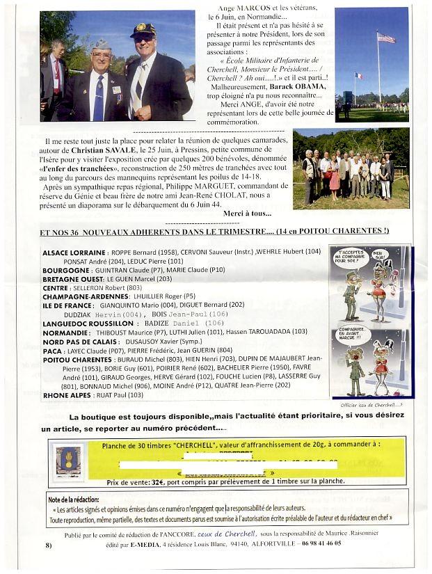 """Bulletin CITADELLE n°24 septembre 2014 """"Ils se souviennent"""" Citade16"""