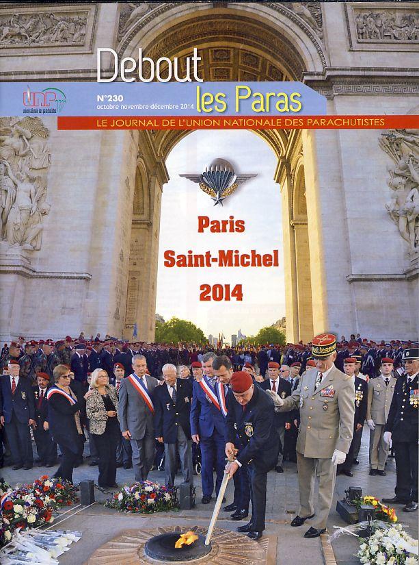 DEBOUT LES PARAS (DLP) revue de l'Union Nationale des Parachutistes Dlp710