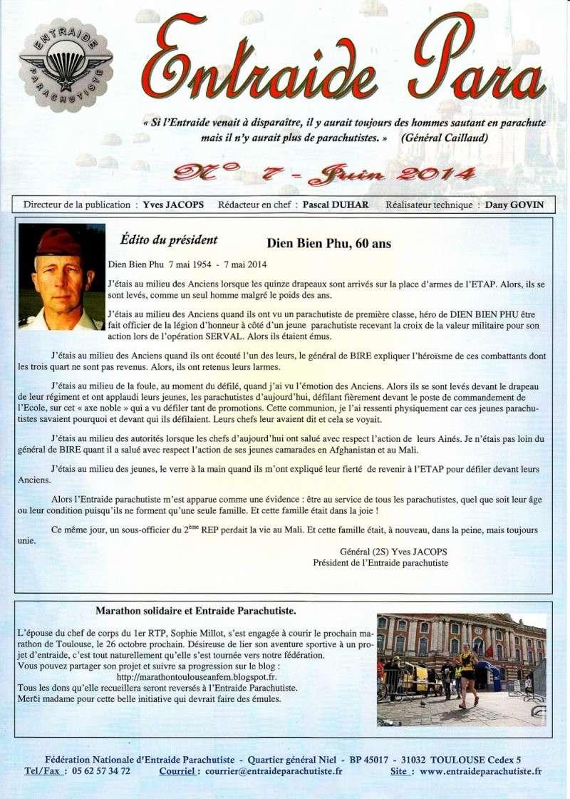 ENTRAIDE PARA n°7 juin 2014 Entre_10