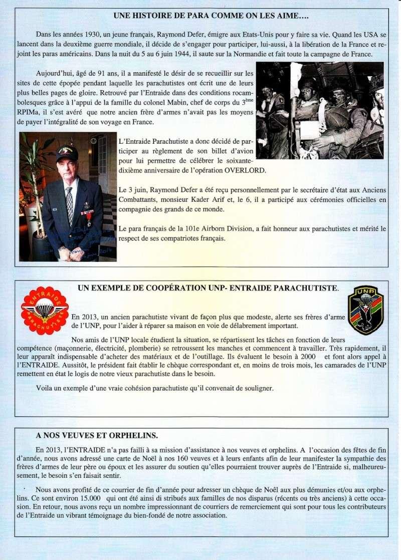 ENTRAIDE PARA n°7 juin 2014 Entre_13