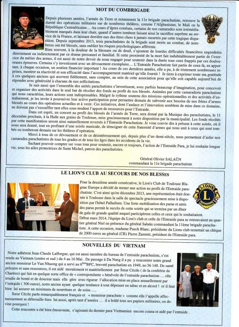 ENTRAIDE PARA n°7 juin 2014 Entre_14