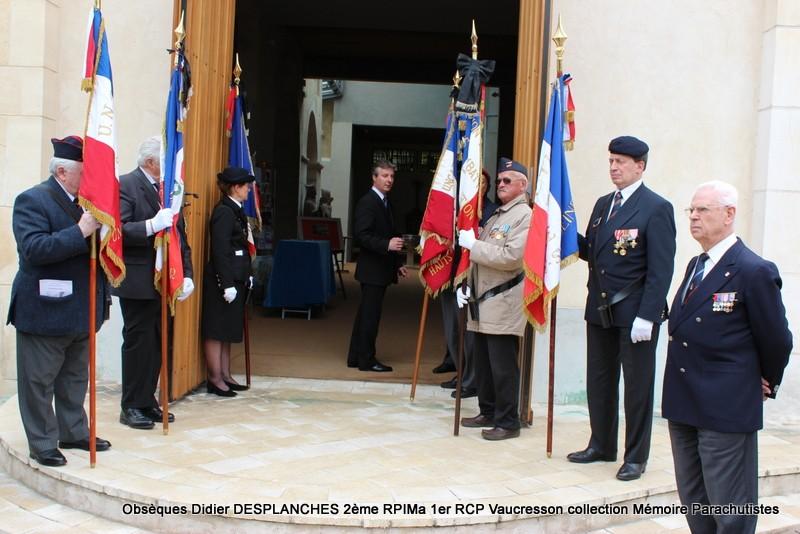 Le Lt Colonel (h) Didier DESPLANCHES  BP 115 078, commandeur de la légion d'honneur est décédé le 28 mai dans sa 81éme annnée. Img_2511