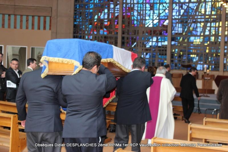 Le Lt Colonel (h) Didier DESPLANCHES  BP 115 078, commandeur de la légion d'honneur est décédé le 28 mai dans sa 81éme annnée. Img_2514