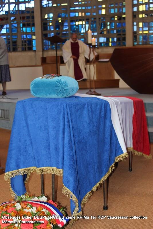 Le Lt Colonel (h) Didier DESPLANCHES  BP 115 078, commandeur de la légion d'honneur est décédé le 28 mai dans sa 81éme annnée. Img_2517