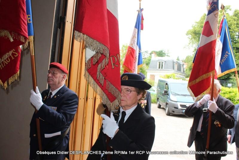Le Lt Colonel (h) Didier DESPLANCHES  BP 115 078, commandeur de la légion d'honneur est décédé le 28 mai dans sa 81éme annnée. Img_2520
