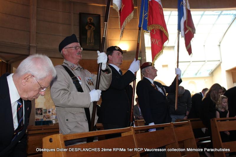 Le Lt Colonel (h) Didier DESPLANCHES  BP 115 078, commandeur de la légion d'honneur est décédé le 28 mai dans sa 81éme annnée. Img_2521