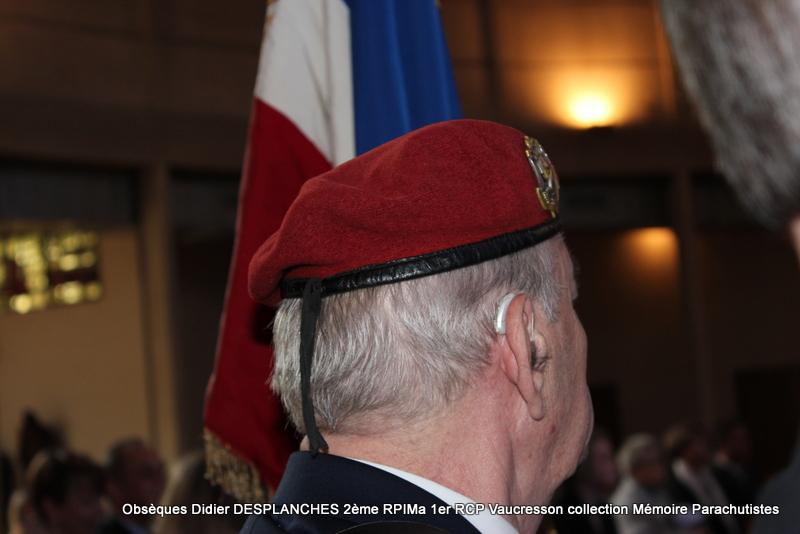 Le Lt Colonel (h) Didier DESPLANCHES  BP 115 078, commandeur de la légion d'honneur est décédé le 28 mai dans sa 81éme annnée. Img_2524