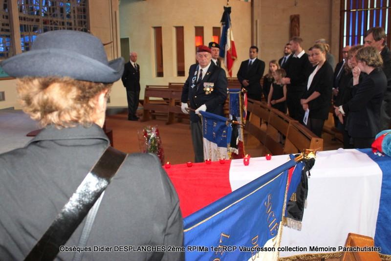 Le Lt Colonel (h) Didier DESPLANCHES  BP 115 078, commandeur de la légion d'honneur est décédé le 28 mai dans sa 81éme annnée. Img_2612