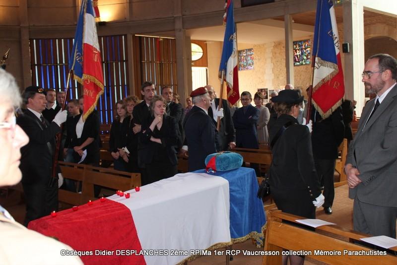Le Lt Colonel (h) Didier DESPLANCHES  BP 115 078, commandeur de la légion d'honneur est décédé le 28 mai dans sa 81éme annnée. Img_2614