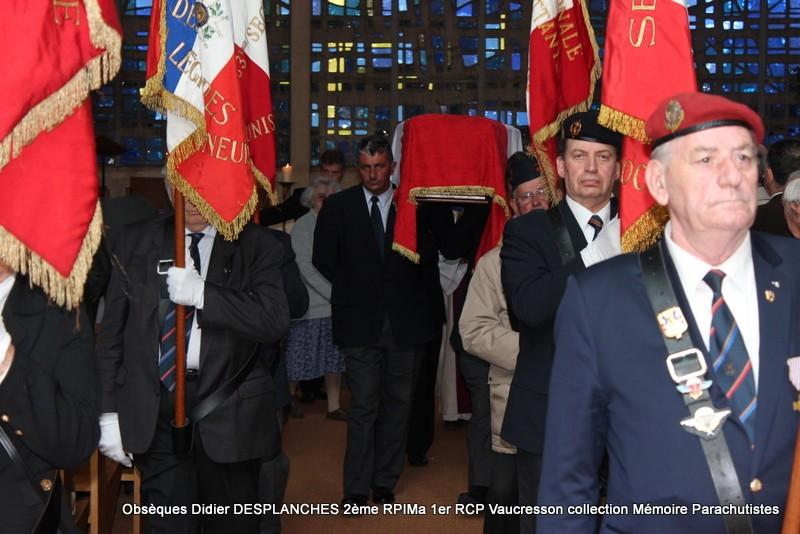 Le Lt Colonel (h) Didier DESPLANCHES  BP 115 078, commandeur de la légion d'honneur est décédé le 28 mai dans sa 81éme annnée. Img_2616