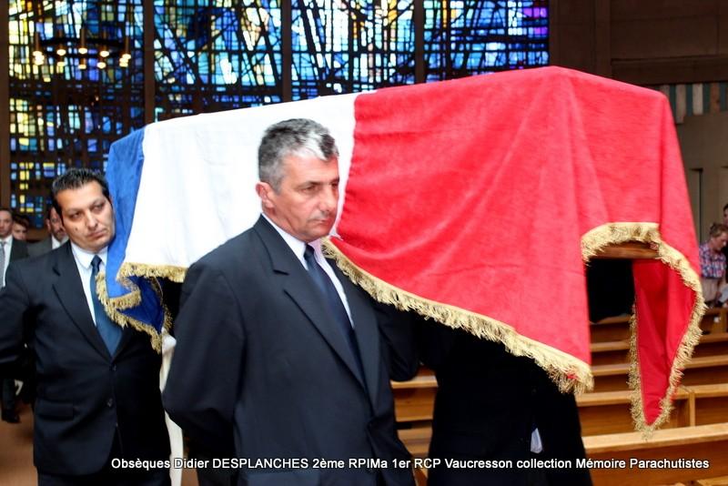Le Lt Colonel (h) Didier DESPLANCHES  BP 115 078, commandeur de la légion d'honneur est décédé le 28 mai dans sa 81éme annnée. Img_2617