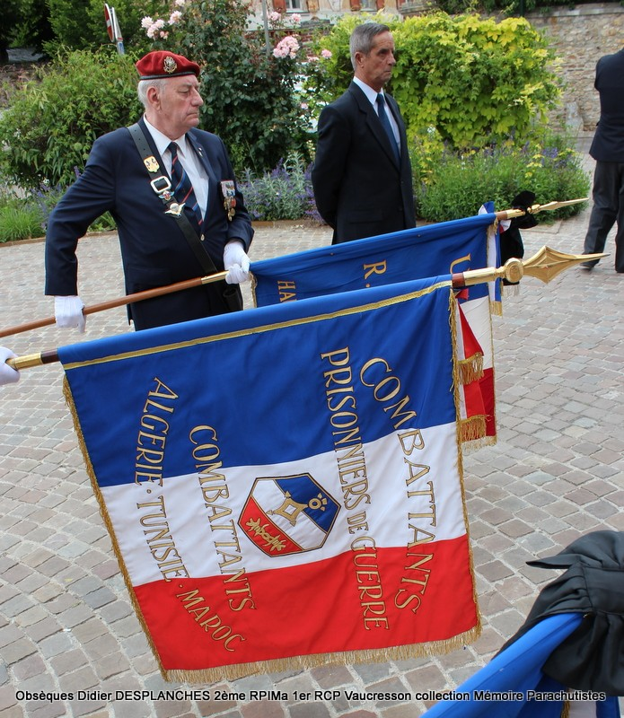 Le Lt Colonel (h) Didier DESPLANCHES  BP 115 078, commandeur de la légion d'honneur est décédé le 28 mai dans sa 81éme annnée. Img_2620