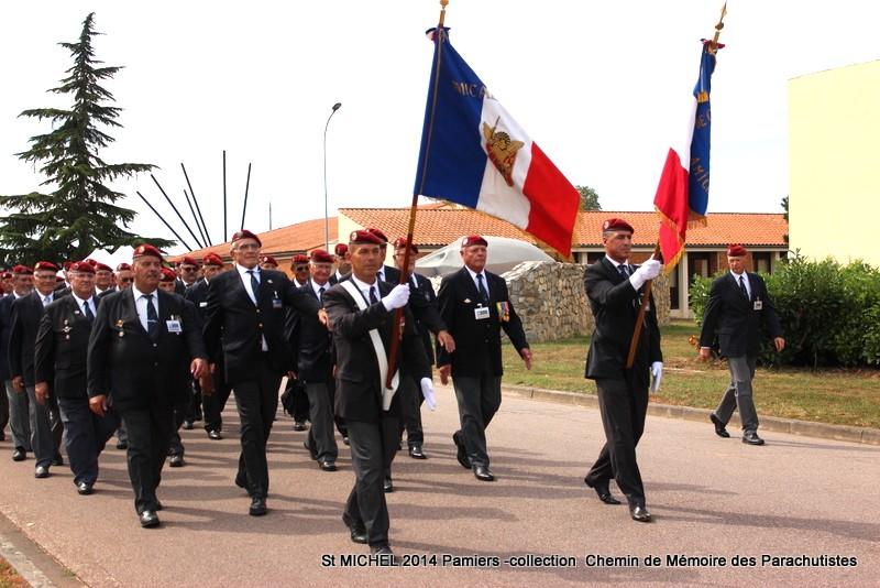 ST MICHEL au 1er RCP à Pamiers la journée des anciens des 1er RCP et 9ème RCP Img_3319