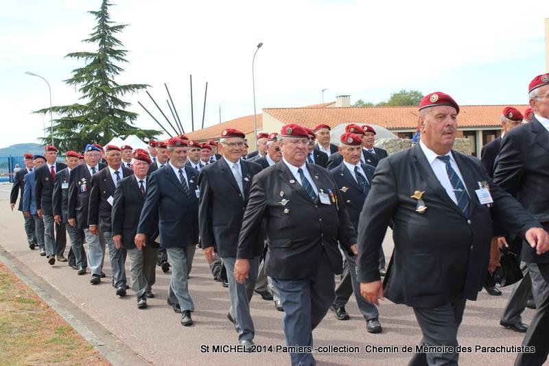 ST MICHEL au 1er RCP à Pamiers la journée des anciens des 1er RCP et 9ème RCP Img_3320