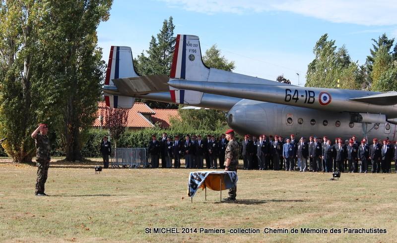 ST MICHEL au 1er RCP à Pamiers la journée des anciens des 1er RCP et 9ème RCP Img_3322