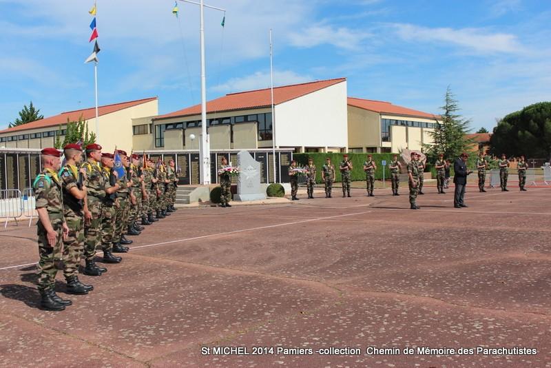 St MICHEL 1er RCP Pamiers - Hommage aux morts des 1er RCP et 9ème RCP Img_3323