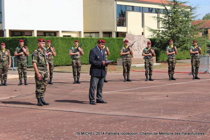 St MICHEL 1er RCP Pamiers - Hommage aux morts des 1er RCP et 9ème RCP Img_3324