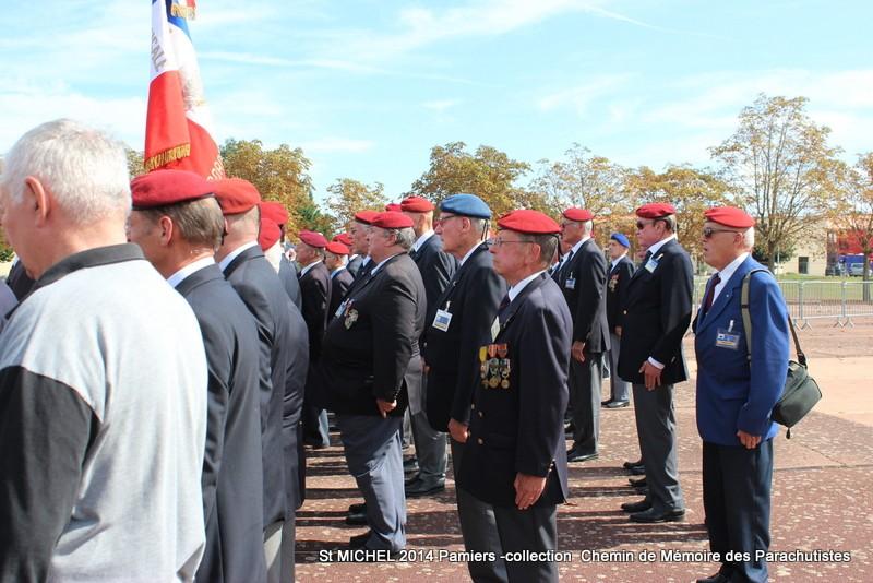 St MICHEL 1er RCP Pamiers - Hommage aux morts des 1er RCP et 9ème RCP Img_3325