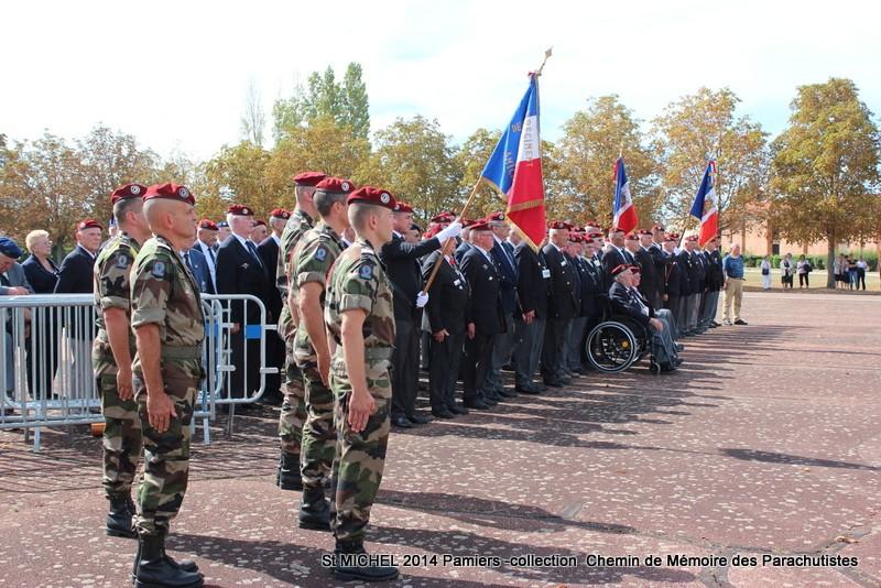 St MICHEL 1er RCP Pamiers - Hommage aux morts des 1er RCP et 9ème RCP Img_3328