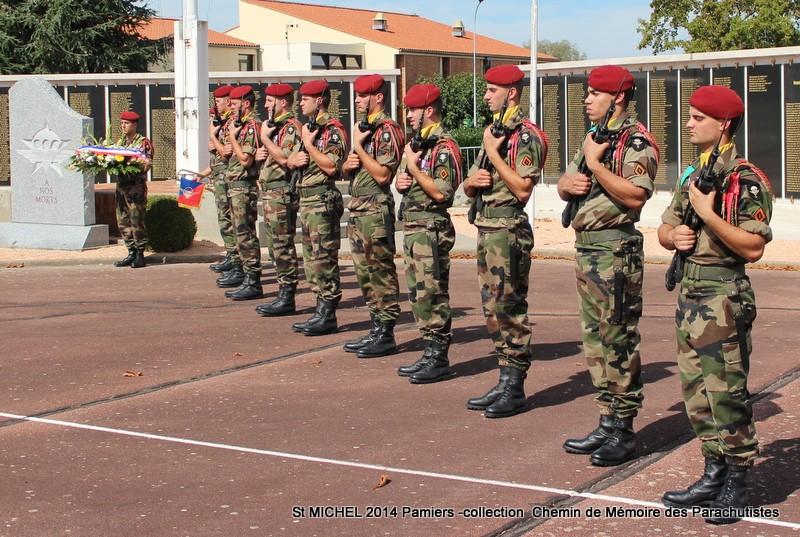 St MICHEL 1er RCP Pamiers - Hommage aux morts des 1er RCP et 9ème RCP Img_3329