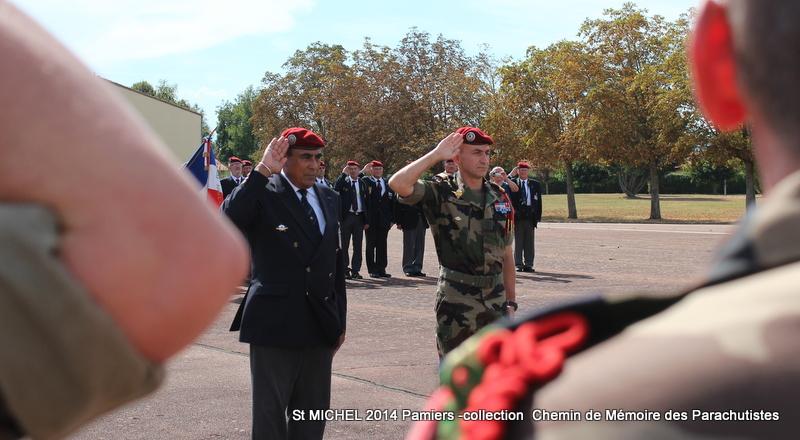 St MICHEL 1er RCP Pamiers - Hommage aux morts des 1er RCP et 9ème RCP Img_3331