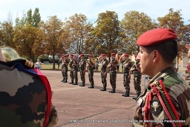 St MICHEL 1er RCP Pamiers - Hommage aux morts des 1er RCP et 9ème RCP Img_3332