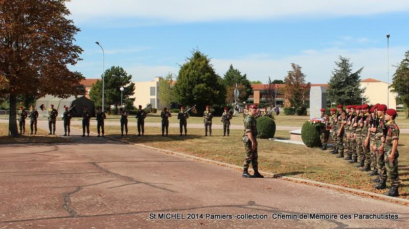 St MICHEL 1er RCP Pamiers - Hommage aux morts des 1er RCP et 9ème RCP Img_3336