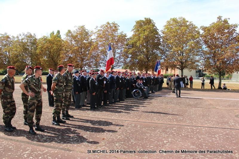 St MICHEL 1er RCP Pamiers - Hommage aux morts des 1er RCP et 9ème RCP Img_3337