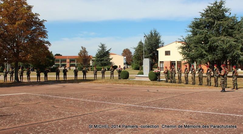 St MICHEL 1er RCP Pamiers - Hommage aux morts des 1er RCP et 9ème RCP Img_3338