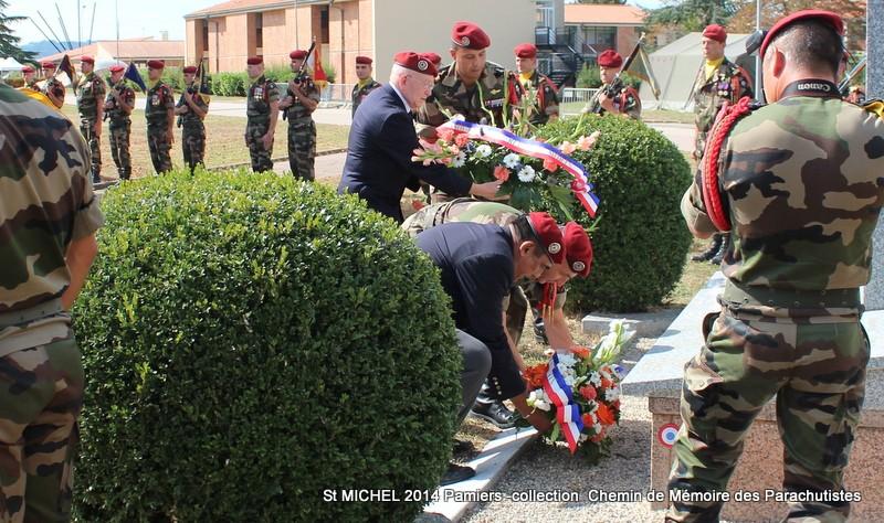 St MICHEL 1er RCP Pamiers - Hommage aux morts des 1er RCP et 9ème RCP Img_3339