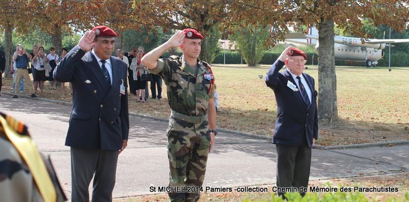 St MICHEL 1er RCP Pamiers - Hommage aux morts des 1er RCP et 9ème RCP Img_3341