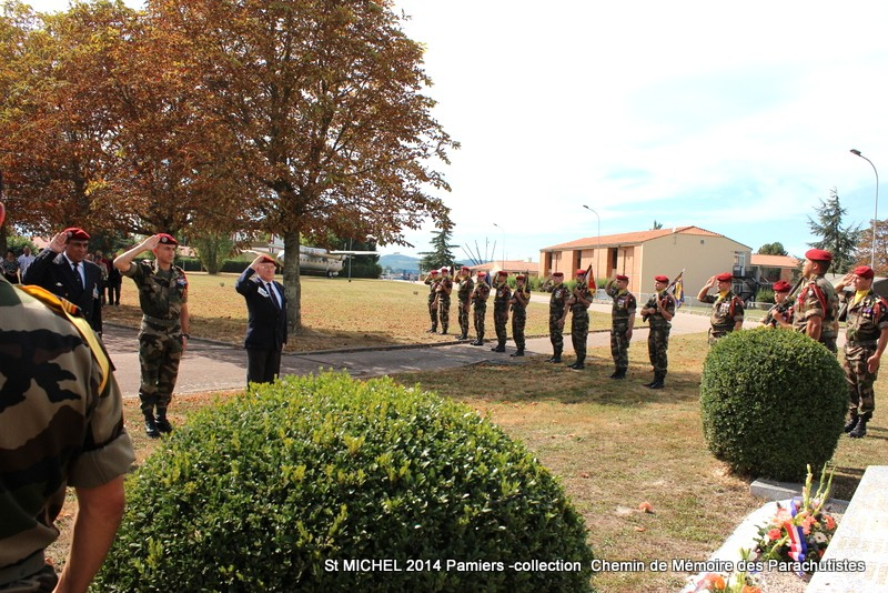 St MICHEL 1er RCP Pamiers - Hommage aux morts des 1er RCP et 9ème RCP Img_3342
