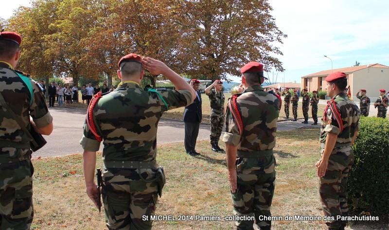 St MICHEL 1er RCP Pamiers - Hommage aux morts des 1er RCP et 9ème RCP Img_3346
