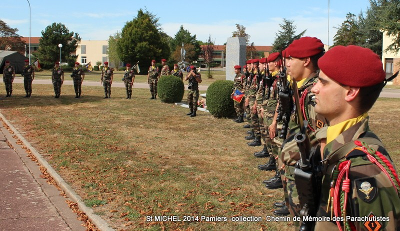 St MICHEL 1er RCP Pamiers - Hommage aux morts des 1er RCP et 9ème RCP Img_3347