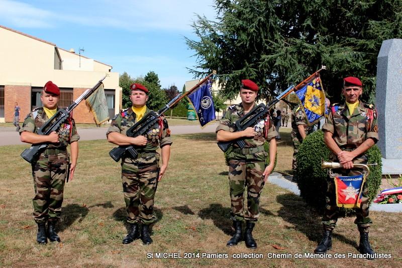 St MICHEL 1er RCP Pamiers - Hommage aux morts des 1er RCP et 9ème RCP Img_3351