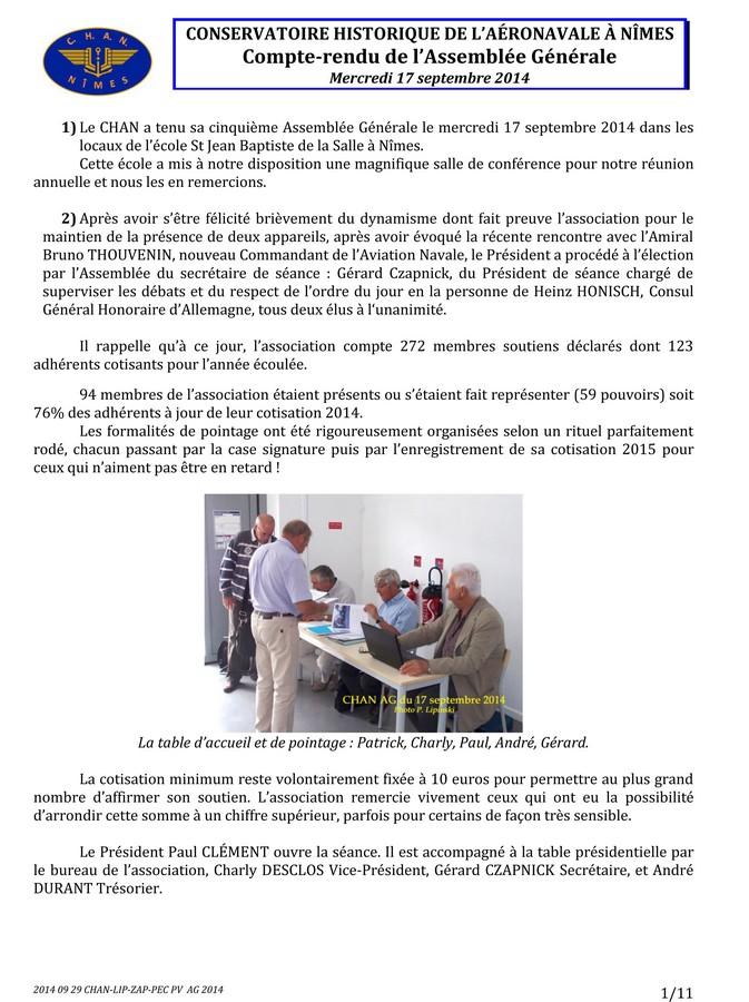[Associations anciens marins] C.H.A.N.-Nîmes (Conservatoire Historique de l'Aéronavale-Nîmes) - Page 2 2014_037