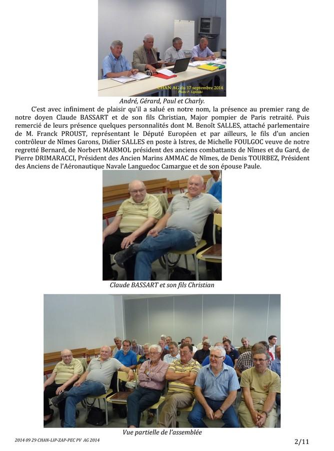 [Associations anciens marins] C.H.A.N.-Nîmes (Conservatoire Historique de l'Aéronavale-Nîmes) - Page 2 2014_040