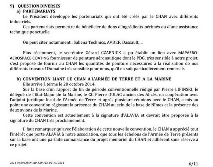 [Associations anciens marins] C.H.A.N.-Nîmes (Conservatoire Historique de l'Aéronavale-Nîmes) - Page 2 2014_043