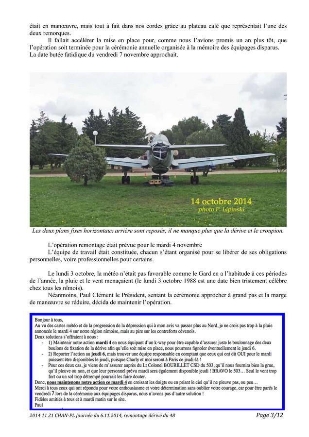 [Associations anciens marins] C.H.A.N.-Nîmes (Conservatoire Historique de l'Aéronavale-Nîmes) - Page 3 2014_112