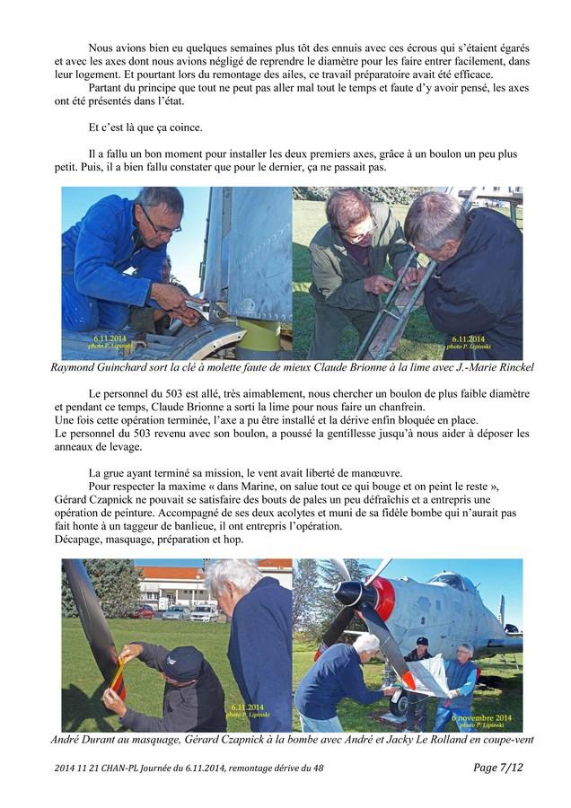 [Associations anciens marins] C.H.A.N.-Nîmes (Conservatoire Historique de l'Aéronavale-Nîmes) - Page 3 2014_116